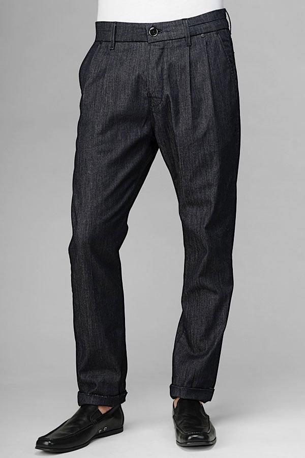 10th Anniversary: Unisex Trouser Jean In Rinsed Indigo