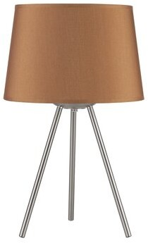 """Lights Up! Weegee Small 20"""" Tripod Table Lamp"""