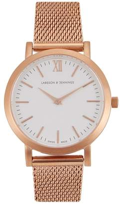 Larsson & Jennings Liten Rose Gold-plated Watch
