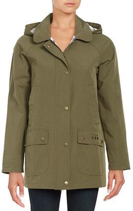 Barbour Gustnado Waterproof Jacket $299 thestylecure.com