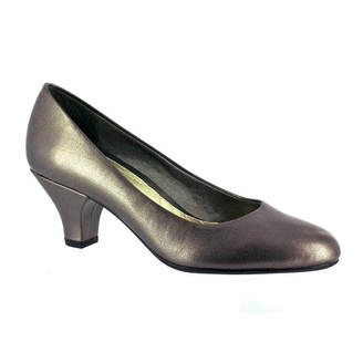 Easy Street Shoes Womens Fabulous Pumps Slip-on Round Toe Cone Heel