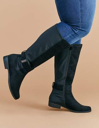 Lane Bryant To-The-Knee Buckle Boot