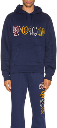 Polo Ralph Lauren Vintage Fleece Knit Hoodie in Cruise Navy | FWRD