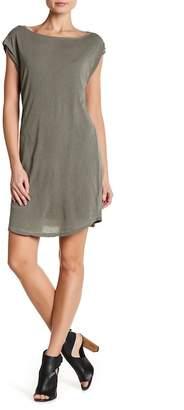 Splendid Rolled Sleeve T-Shirt Dress