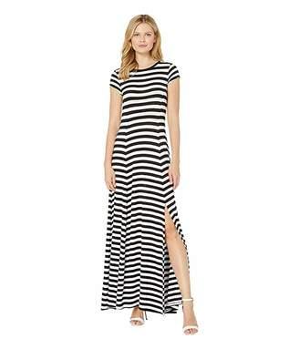 MICHAEL Michael Kors Stripe Slit Maxi Dress