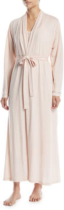 Skin Kiera Long Organic Cotton Jersey Robe
