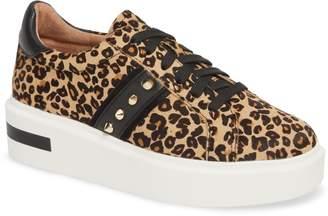 Linea Paolo Knox II Platform Genuine Calf Hair Sneaker