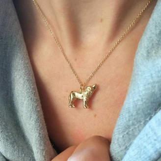 Jana Reinhardt Jewellery Personalised Wolf Necklace