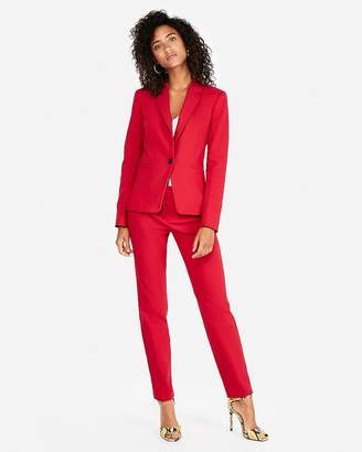 Express Petite Mid Rise Columnist Ankle Pant