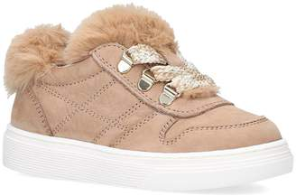 Hogan J340 Basso Allacc Fur Sneakers