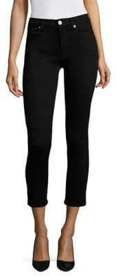 Hudson Harper High-Rise Cropped Baby Kick Flared Jeans