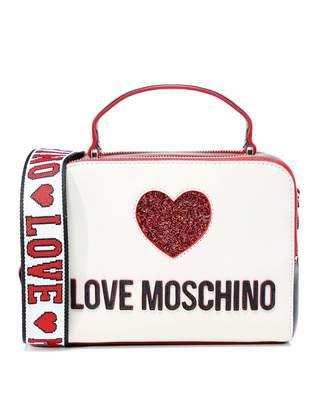 Love Moschino Moschino Women's Sequin Heart Camera Bag