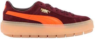 Puma Select Trace Block Suede Platform Sneakers