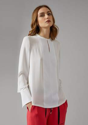Giorgio Armani Silk Crepe Shirt