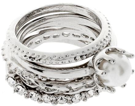 Lipsy Stack Ring Set