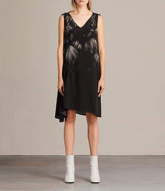 AllSaints Rye Neluwa Silk Dress