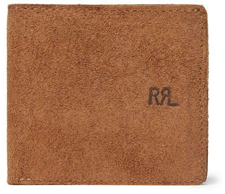 RRL Ranch Suede Billfold Wallet