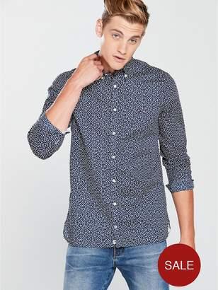 Tommy Hilfiger Tommy Sportswear Micro Flower Slim Long Sleeve Shirt