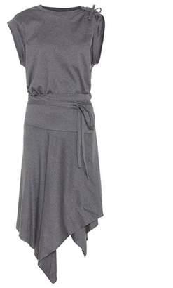 Isabel Marant Loko wrap dress in cotton
