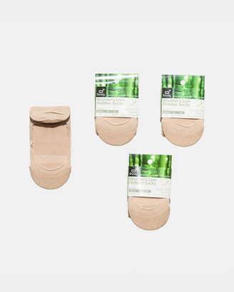 4 Pack Low Hidden Sock Nude