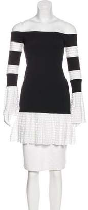 Alexis Ruffle-Accented Long Sleeve Tunic