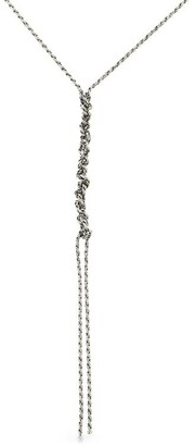 Emanuele Bicocchi Crochet Sterling Silver Necklace