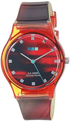 La Mer Japanese Automatic Plastic and Silicone Casual Watch