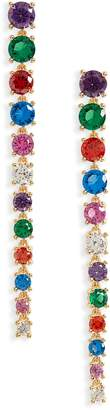 Nordstrom Crystal Linear Drop Earrings