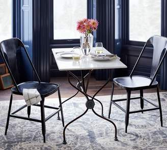 Pottery Barn Argos Marble Bistro Table