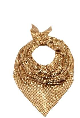Paco Rabanne Chain Mail Scarf - Womens - Gold