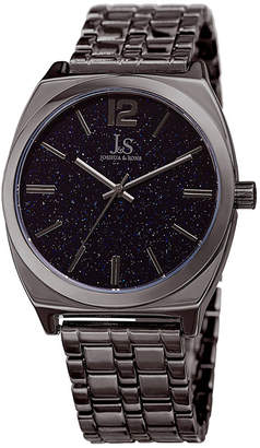 JOSHUA & SONS Joshua & Sons Mens Gray Strap Watch-J-122gn