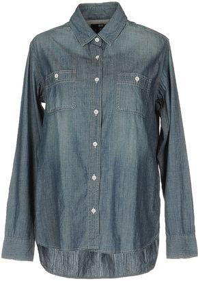 UNIQLO Denim shirts $53 thestylecure.com