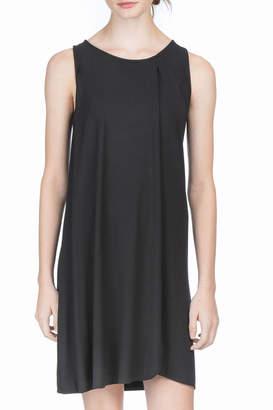 Lilla P Draped Front Dress