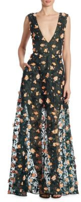Jason Wu Floral Embroidered Gown $5,745 thestylecure.com