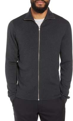 Calibrate Mock Neck Zip Sweater