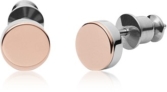 Skagen Two Tone Stainless Steel Elin Women's Earrings