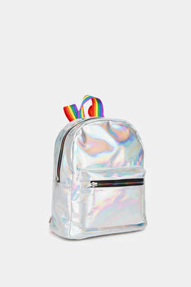 Ardene Holographic Backpack