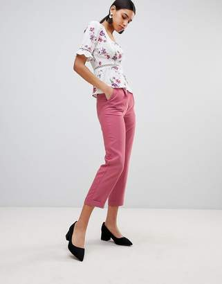 Fashion Union High Waist Tailored Pants