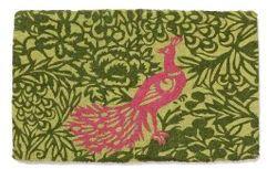 Peacock Garden Doormat
