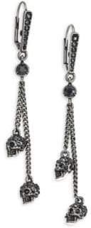 Alexander McQueen Thin Chain Earrings