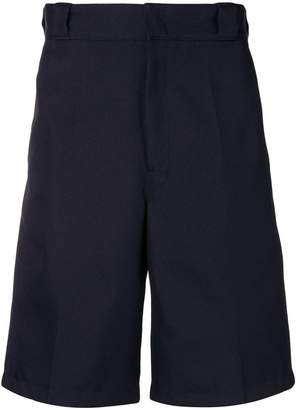 Prada high waisted knee length shorts