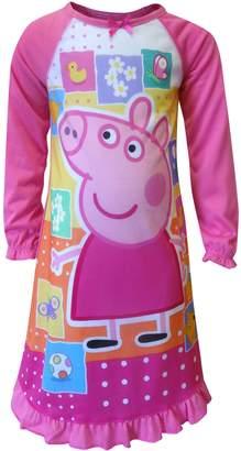 Komar Kids Girls' Peppa Pig Favorite Things Toddler Nightgown