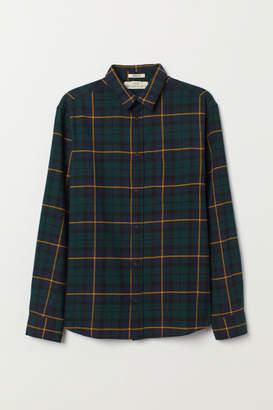 H&M Flannel Shirt - Blue