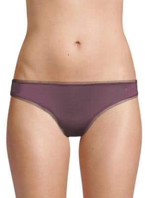 DKNY Mesh-Trimmed Thong