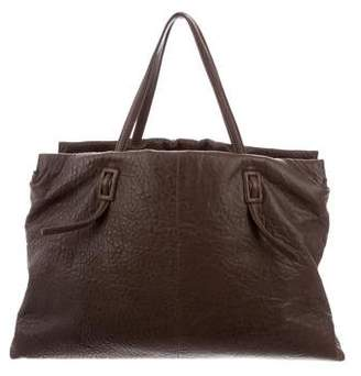 Roger Vivier Textured Leather Tote