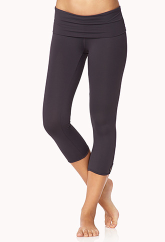 Forever 21 Cinched Skinny Workout Capris