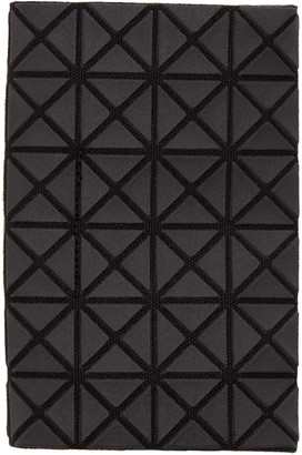 Bao Bao Issey Miyake Black Geometric Card Holder $150 thestylecure.com
