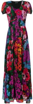 Twin-Set floral print maxi dress