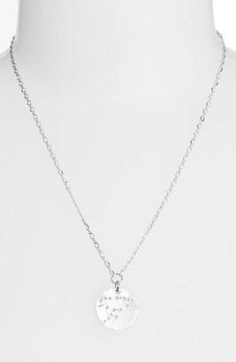 Women's Ija 'Large Zodiac' Sterling Silver Necklace $113 thestylecure.com