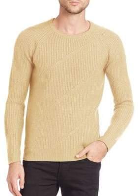 J. Lindeberg Arvid Diagonal Ribbed Sweater